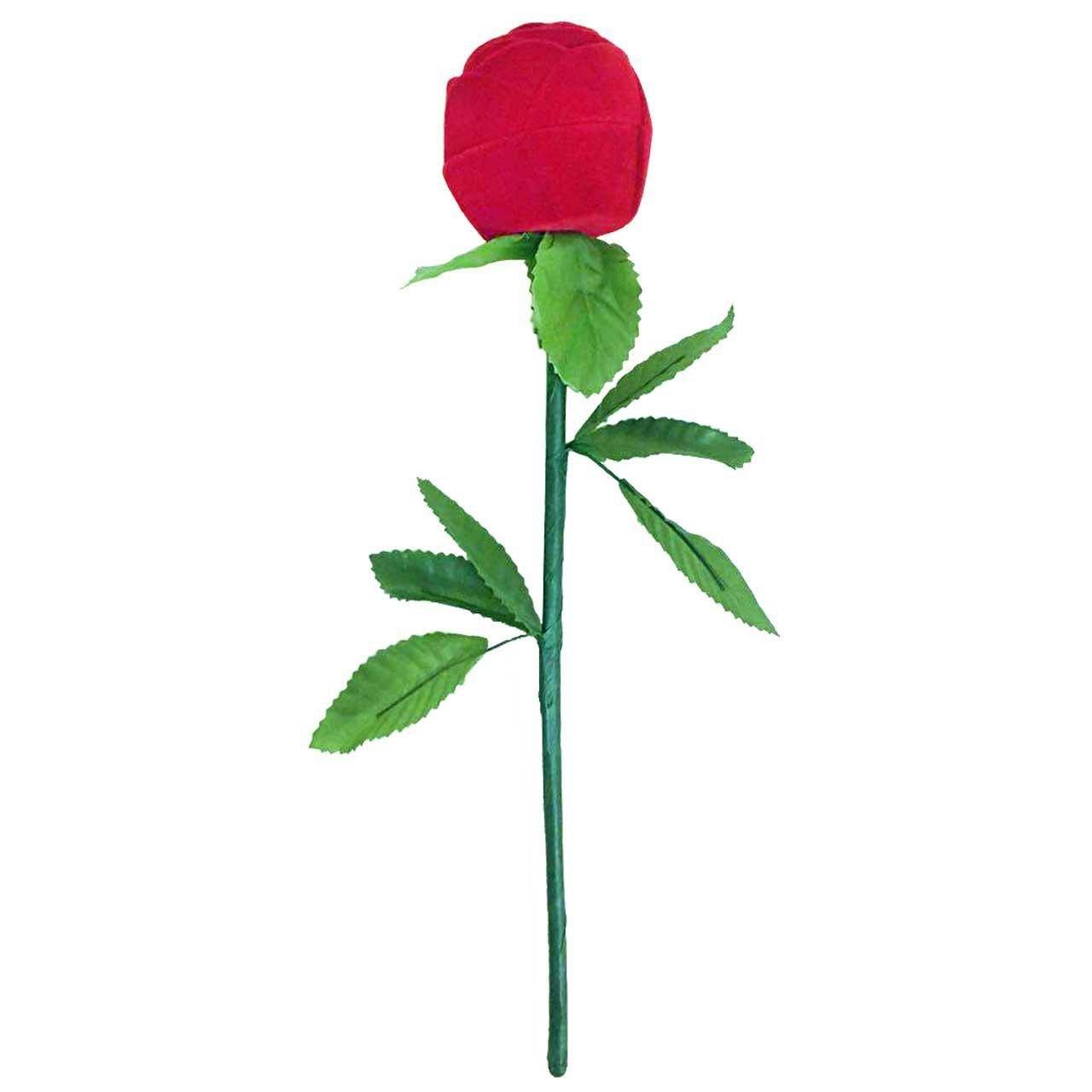 جعبه انگشتر مدل گل سرخ