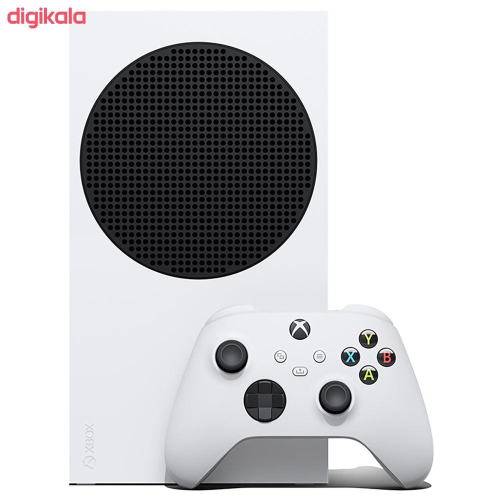 کنسول بازی مایکروسافت مدل XBOX SERIES S ظرفیت 512 گیگابایت main 1 1