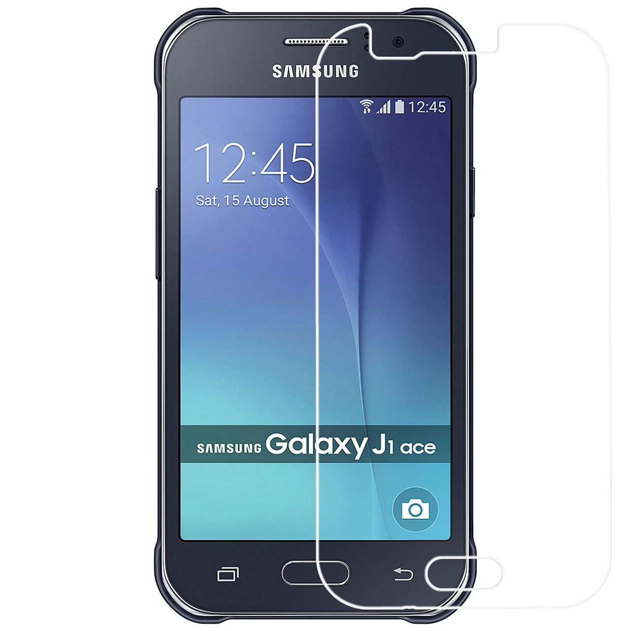 محافظ صفحه نمایش شیشه ای ریمکس مدلTempered مناسب برای گوشی موبایل سامسونگ Galaxy J1 Ace              ( قیمت و خرید)