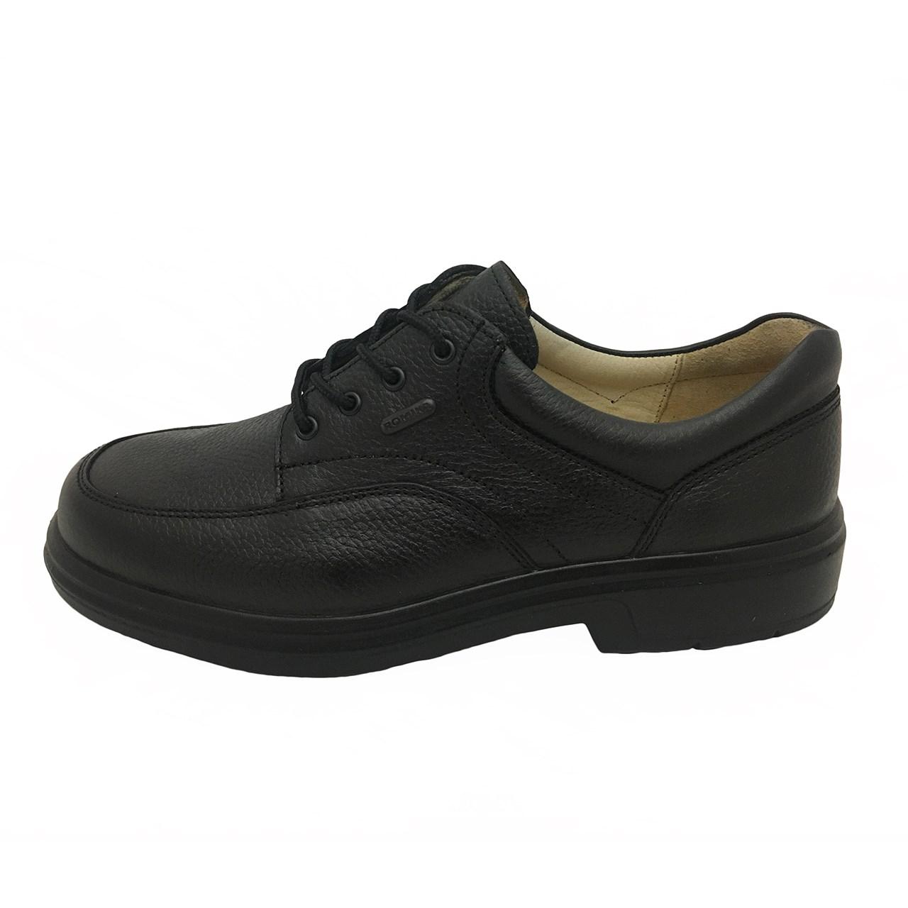 کفش چرم مردانه البرز  مدل آریزونا 1402
