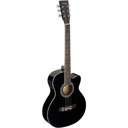 گیتار آکوستیک استگ مدل SA20ACE BLK