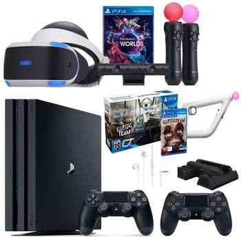مجموعه کنسول بازی سونی مدل Playstation 4 Pro کد CUH-7116B Region 2 - ظرفیت 1 ترابایت