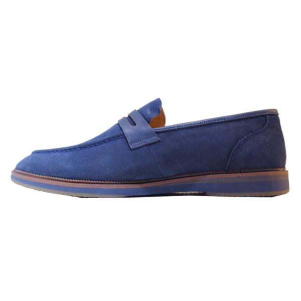کفش روزمره مردانه چرم آرا مدل sh025 کد Abt