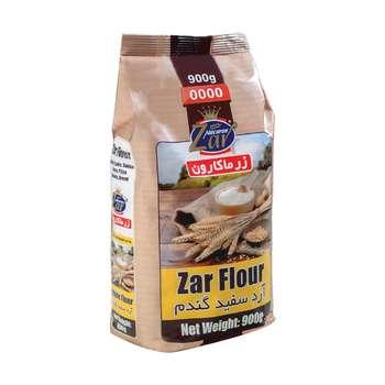 آرد سفید گندم زرماکارون وزن 900 گرم