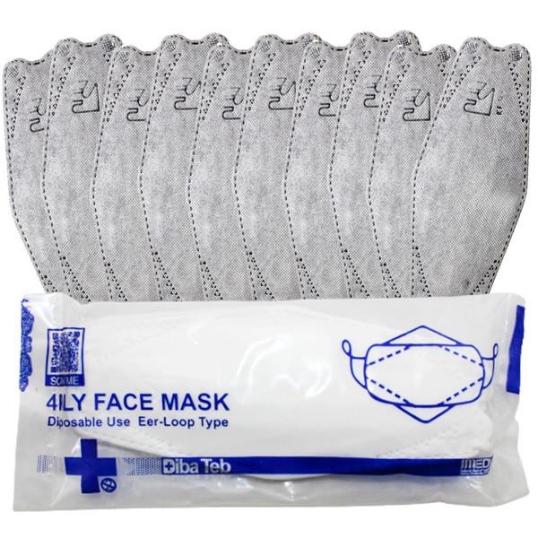 ماسک تنفسی دیباطب مدل 3dبسته 10 عددی