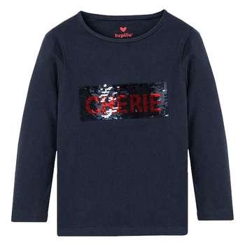تی شرت آستین بلند دخترانه لوپیلو مدل IAN-323683