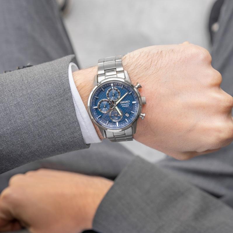 ساعت مچی عقربهای مردانه سیکو مدل SSB387