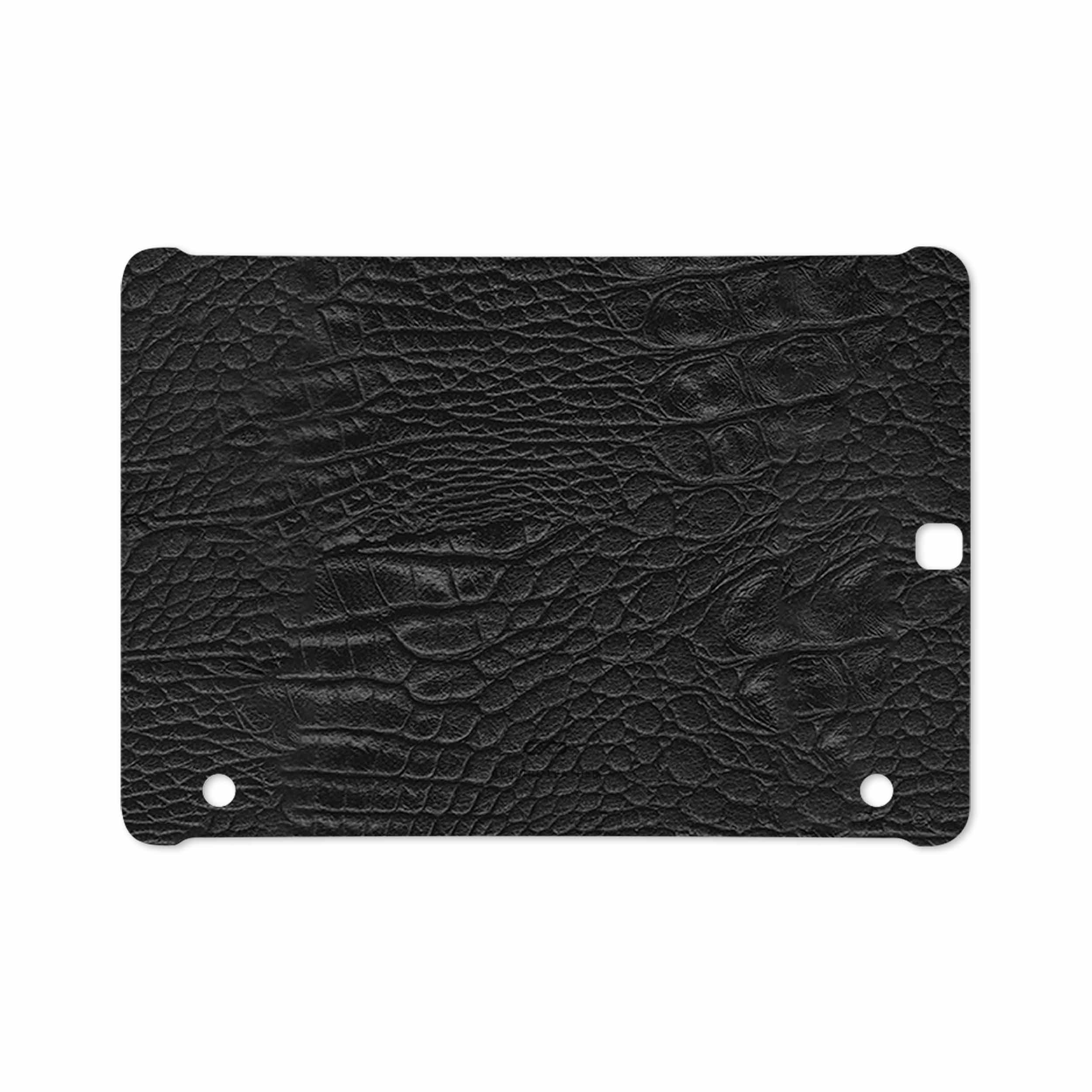 بررسی و خرید [با تخفیف]                                     برچسب پوششی ماهوت مدل Black-Crocodile-Leather مناسب برای تبلت سامسونگ Galaxy Tab S2 9.7 2016 T813N                             اورجینال