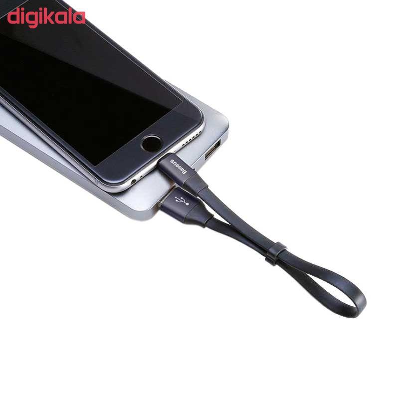 کابل تبدیل USB به لایتنینگ باسئوس مدل CALMBJ-B01 طول 0.23 متر main 1 3
