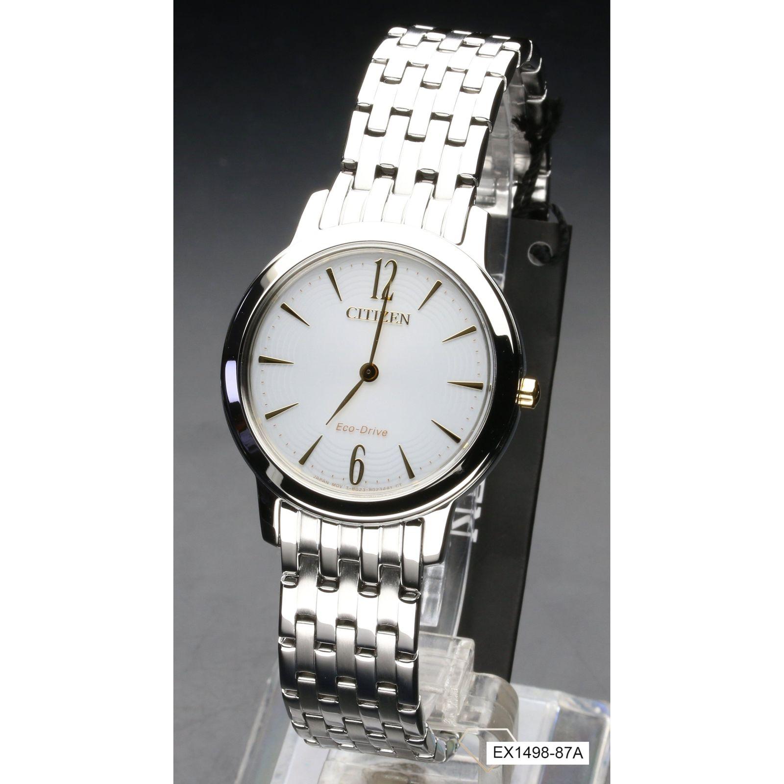 ساعت مچی عقربه ای زنانه سیتی زن مدل EX1498-87A -  - 5