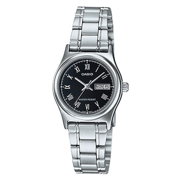 ساعت مچی عقربه ای زنانه کاسیو مدل LTP-V006D-1B