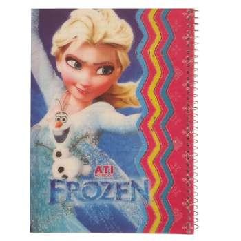 دفتر مشق 50 برگ آتی طرح Frozen