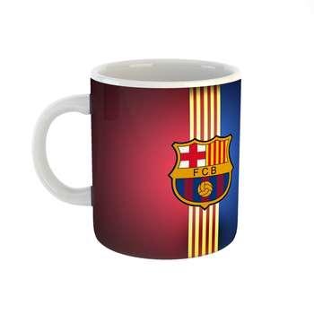 ماگ طرح barcelona مدل بارسلونا کد 2162