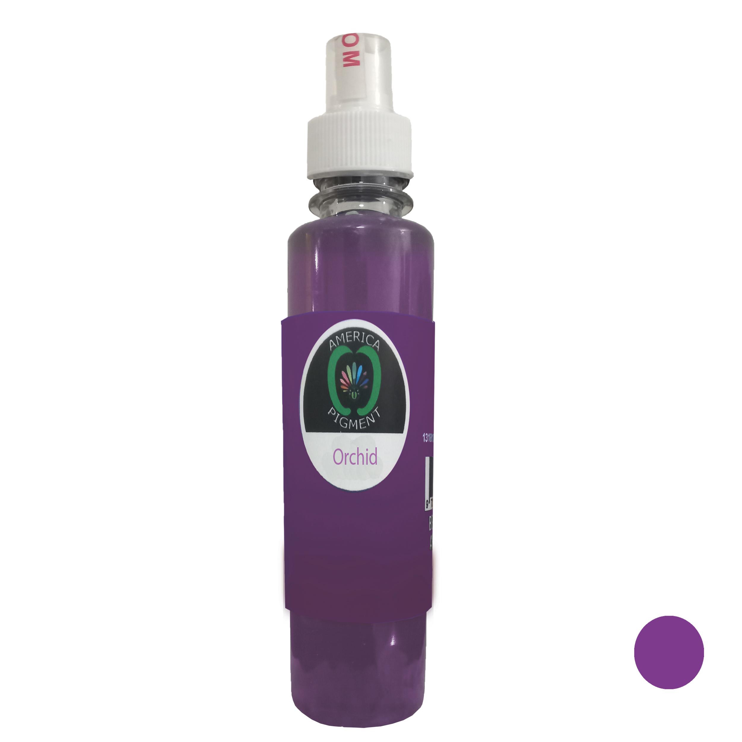 لیکویید رنگ مو آمریکاپیگمنت شماره 002 حجم 250 میلی لیتر رنگ بنفش ارکیده ای