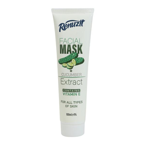 ماسک صورت رینوزیت مدل خیار حجم 100 میلی لیتر