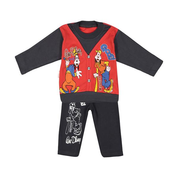 ست تی شرت و شلوار پسرانه سون پون مدل 1391417-72