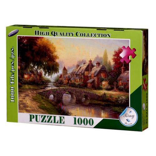پازل 1000 رینگ طرح خانه های روستایی کد p-10