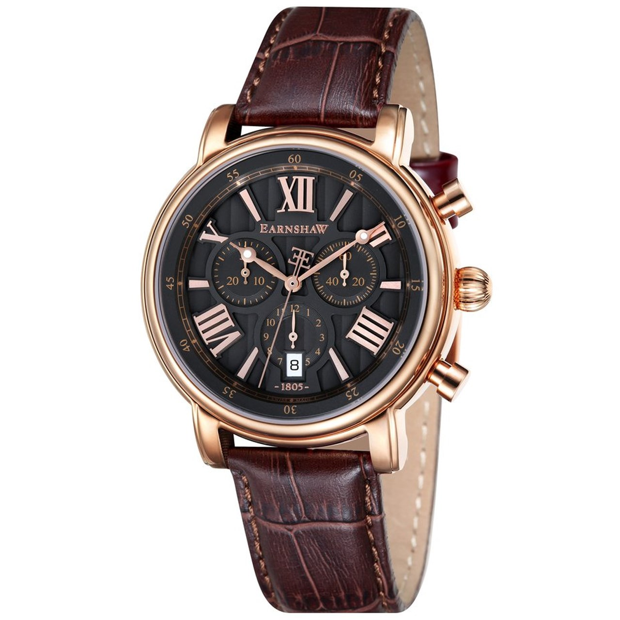 ساعت مچی عقربه ای مردانه ارنشا مدل ES-0016-04 35