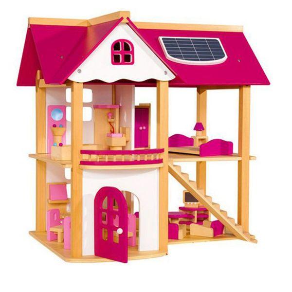 خانه عروسک مدل Pink Doll House