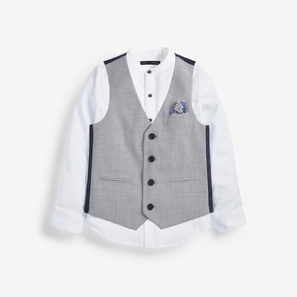 ست جلیقه و پیراهن پسرانه نکست مدل NEXN00361
