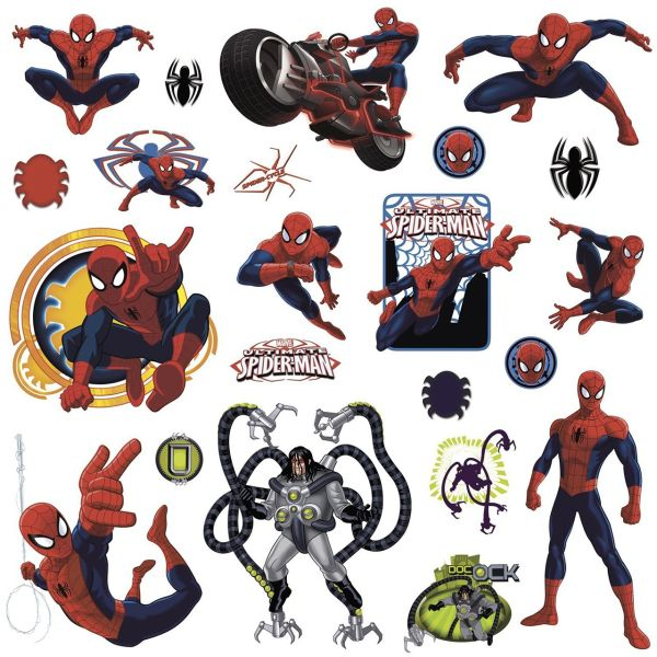 استیکر رومیت مدل Ultimate Spiderman Applique