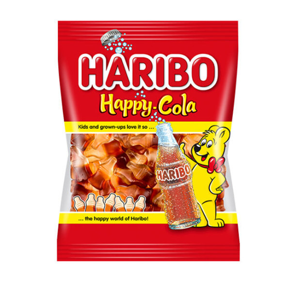 پاستیل Happy cola هاریبو - 160 گرم