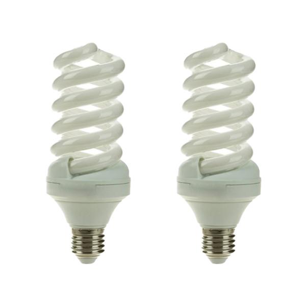 لامپ کم مصرف 32 وات لامپ نور مدل BL پایه E27 بسته 2 عددی