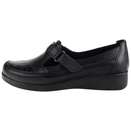 کفش طبی چرمی زنانه آذر برتر  مدل صدف SHO406