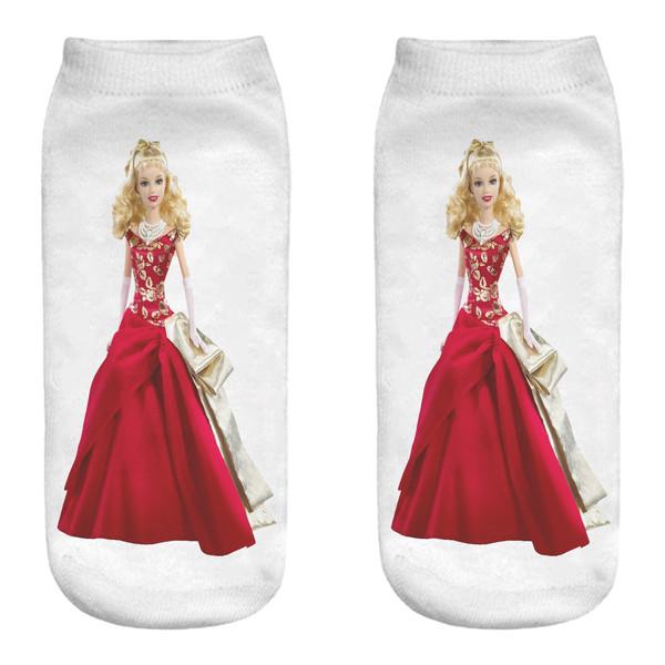 جوراب زنانه مدل باربی  کد MM1157