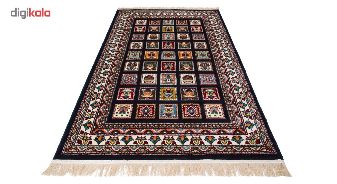 فرش ماشینی دنیای فرش طرح عشایری کد 1005