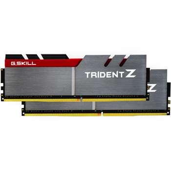 تصویر رم دسکتاپ DDR4 دو کاناله 3200 مگاهرتز CL16 جی اسکیل مدل Trident Z ظرفیت 16 گیگابایت G.SKILL Trident Z DDR4 3200MHz CL16 Dual Channel Desktop RAM - 16GB