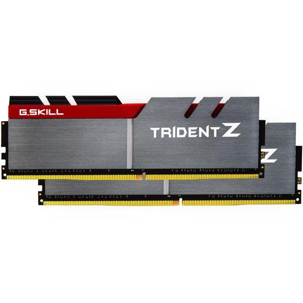 رم دسکتاپ DDR4 دو کاناله 3200 مگاهرتز CL16 جی اسکیل مدل Trident Z ظرفیت 16 گیگابایت