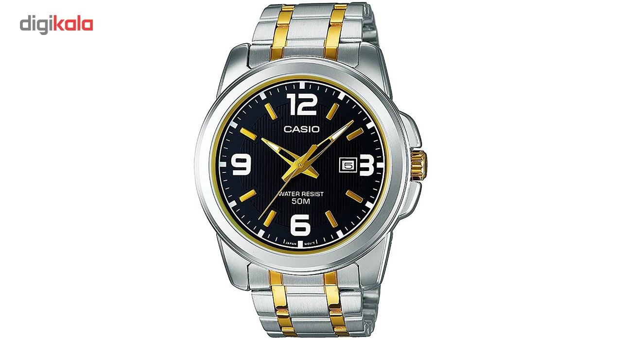 خرید ساعت مچی عقربه ای مردانه کاسیو مدل MTP-1314SG-1AVDF
