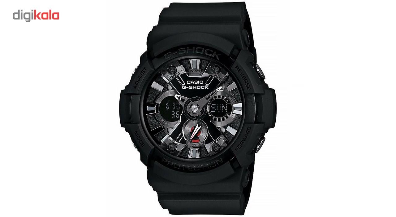 خرید ساعت مچی عقربه ای مردانه کاسیو جی شاک مدل GA-201-1ADR