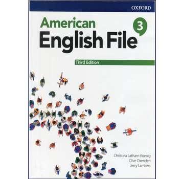 کتاب American English File 3rd 3 اثر جمعی از نویسندگان انتشارات هدف نوین