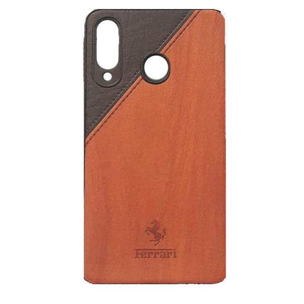 کاور طرح چرمی مدل A600 مناسب برای گوشی موبایل سامسونگ Galaxy A30/A20