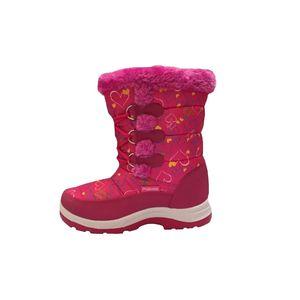 بوت دخترانه پاما مدل گل یخ کد 618