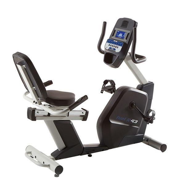دوچرخه ثابت پشتی دار مگنت برقی و برنامه دار فیول مدل R43