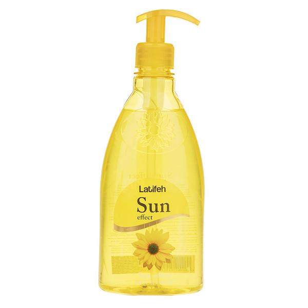 مایع دستشویی لطیفه مدل Sun Effect مقدار 400 گرم