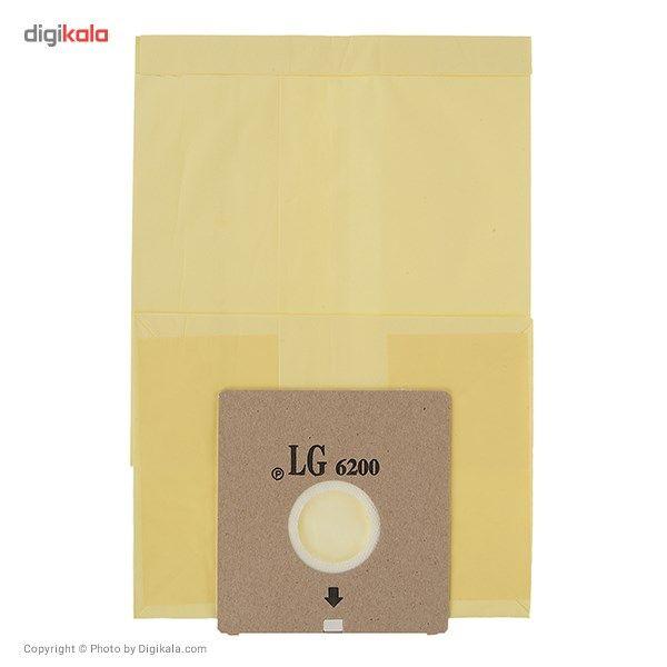 کیسه جاروبرقی  مدل L0 مناسب برای جاروبرقی LG 6200 بسته 5 عددی main 1 1