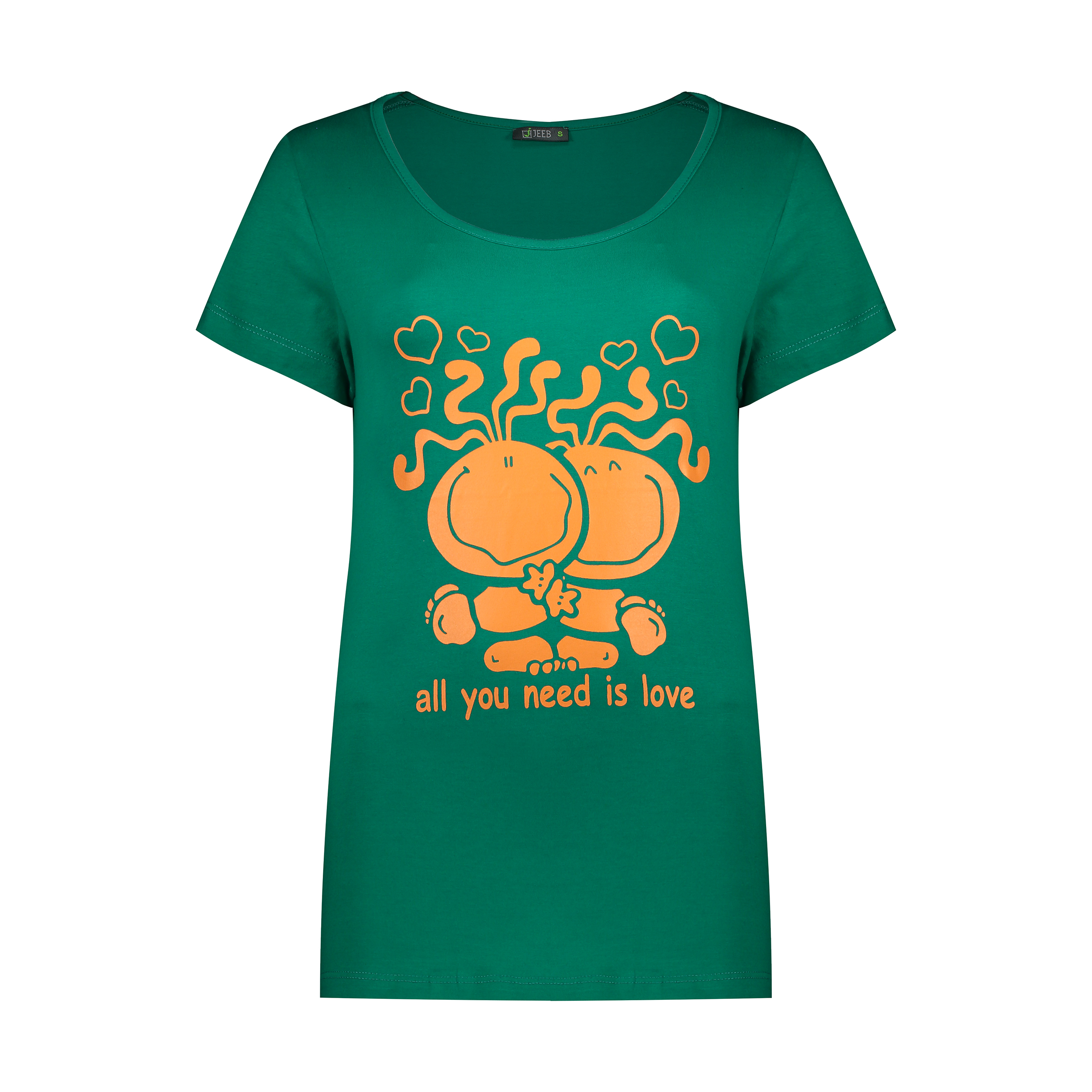 تی شرت آستین کوتاه ورزشی زنانه مدل arsk-nar 002