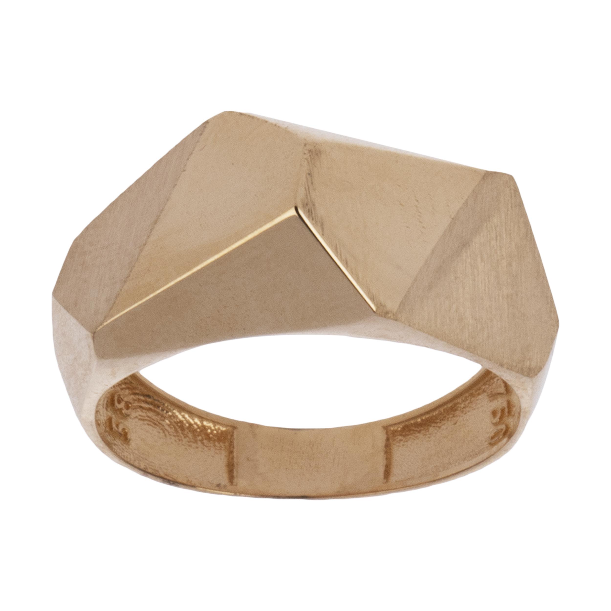 انگشتر طلا 18 عیار زنانه آلند کد BR29