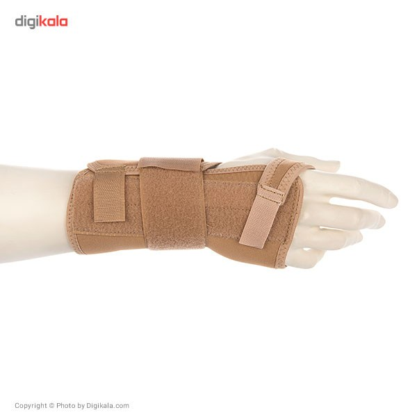 مچ بند طبی دست راست پاک سمن مدل Neoprene CTS With Hard bar سایز بزرگ
