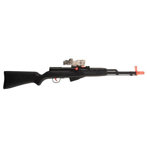 تفنگ اسباب بازی باجی مدل Fighter Soft Bullet 2in1