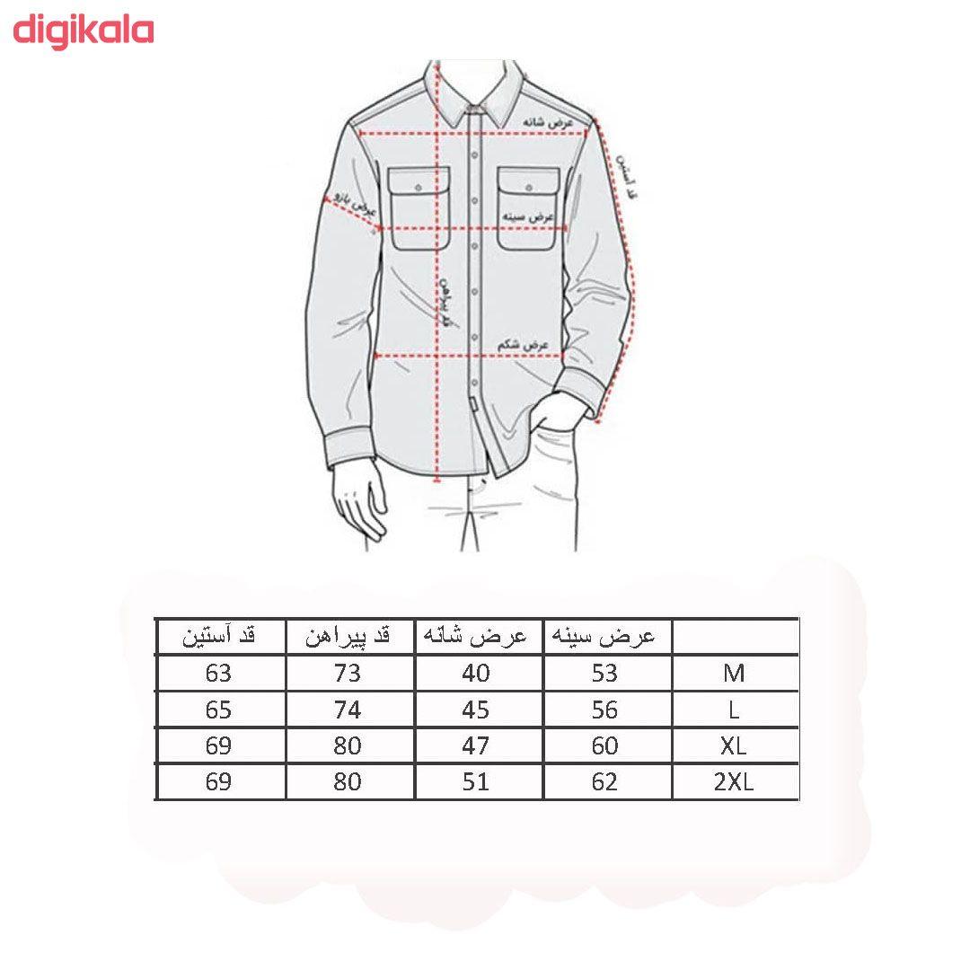 پیراهن مردانه مدل LS03 main 1 4