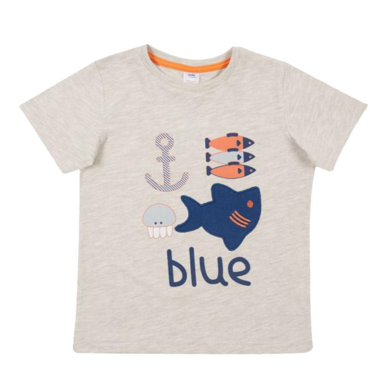 تی شرت آستین کوتاه بچگانه سوبه مدل دریایی