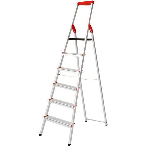 نردبان 6 پله فولاد بهمن مدل FB6s