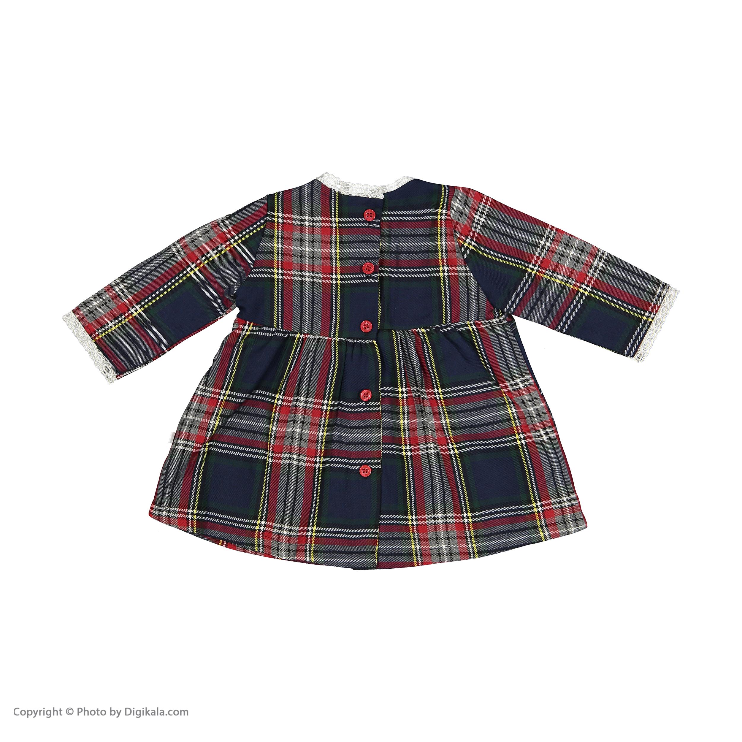 پیراهن نوزادی فیورلا مدل 20502