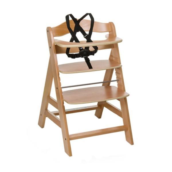 صندلی غذاخوری چوبی هاوک مدل AlphaNatural