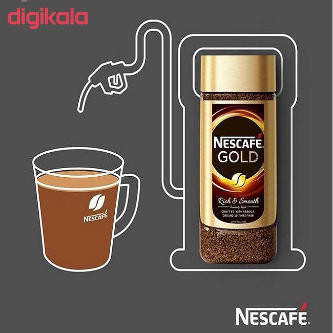 قهوه فوری نسکافه گلد 200 گرم بسته 2 عددی main 1 2